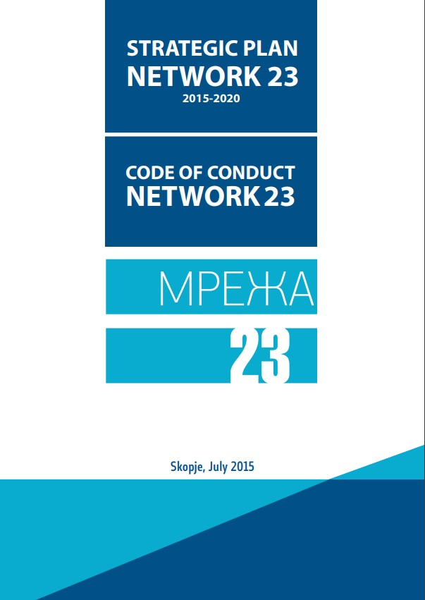 Strategic Plan of Network 23 for the period 2015-2020 and Code of Conduct