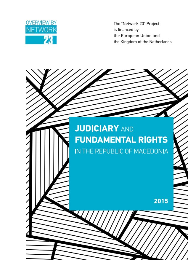 Analysis: Judiciary and Fundamental Rights in the Republic of Macedonia