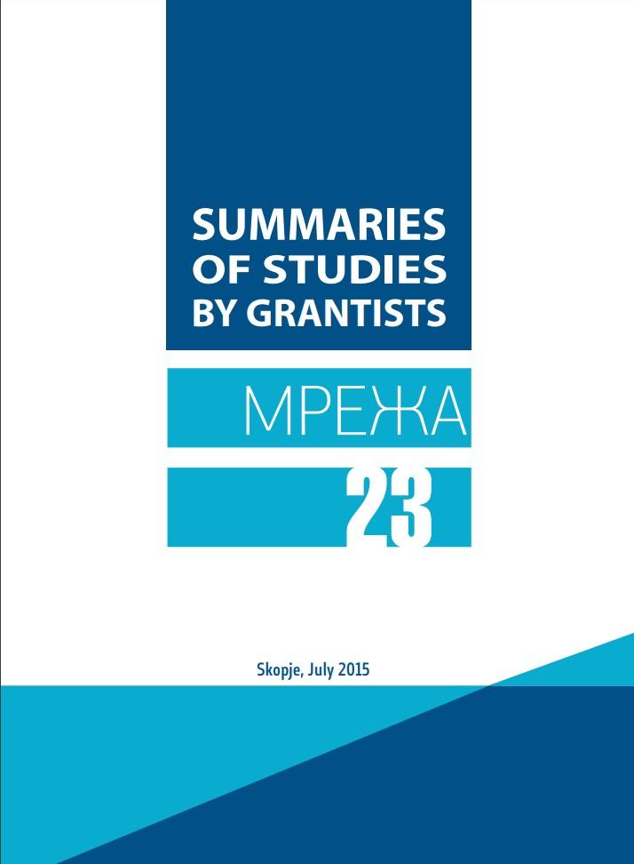 Network 23: Summaries of studies by grantees