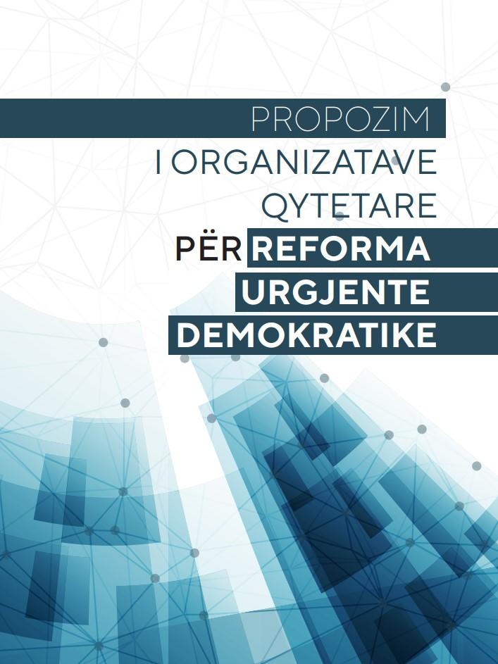 Propozim i organizatave qytetare për reformat urgjente demokratike 2017