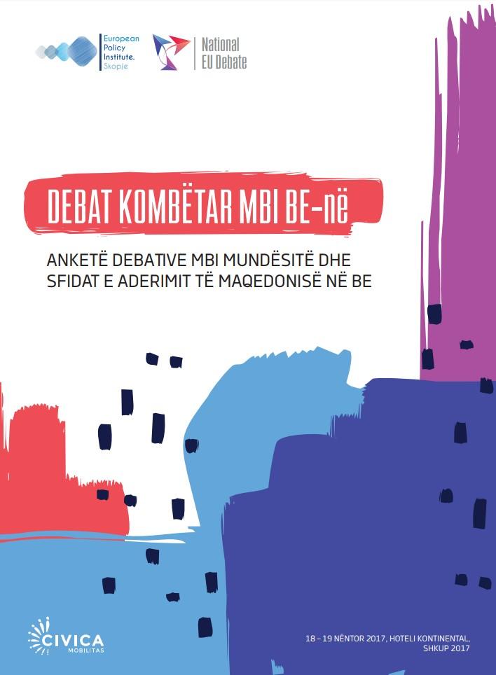 Materijale për informim për demokraci dhe ekonomi: Debata nacionale për BE