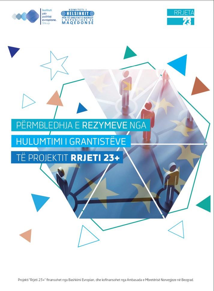 Përmbledhja e rezymeve nga hulumtimi i grantistëve të projektit Rrjeti 23+
