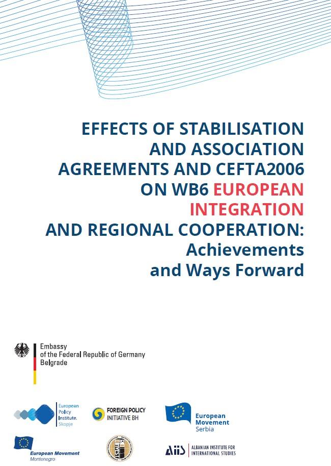 Ефектите на процесот за стабилизација и асоцијација врз европската интеграција...