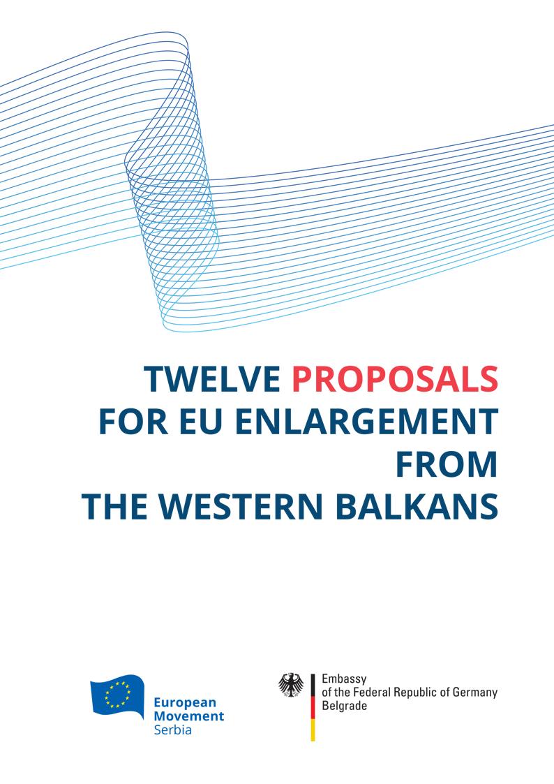 TWELVE PROPOSALS FOR EU ENLARGEMENT FROM THE WESTERN BALKANS