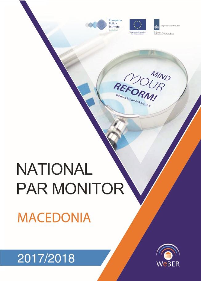 National PAR Monitor Macedonia 2017-2018