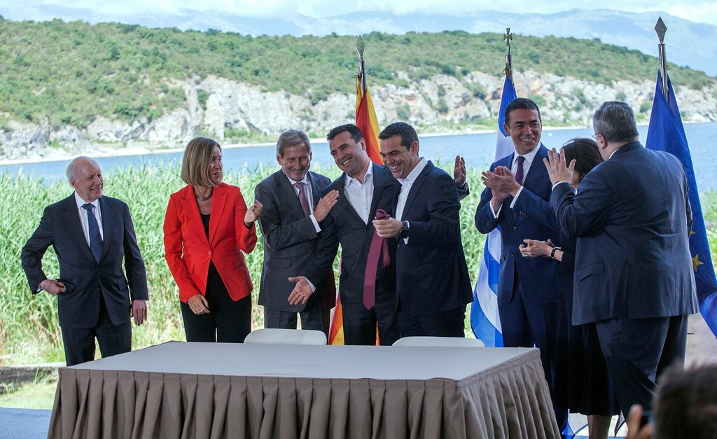 Macedonia's internationalised constitutional amendment process