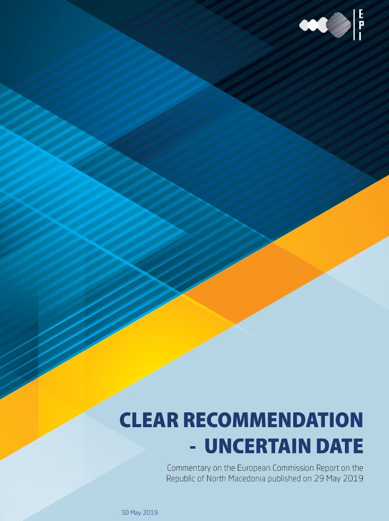 Clear recommendation – Uncertain date
