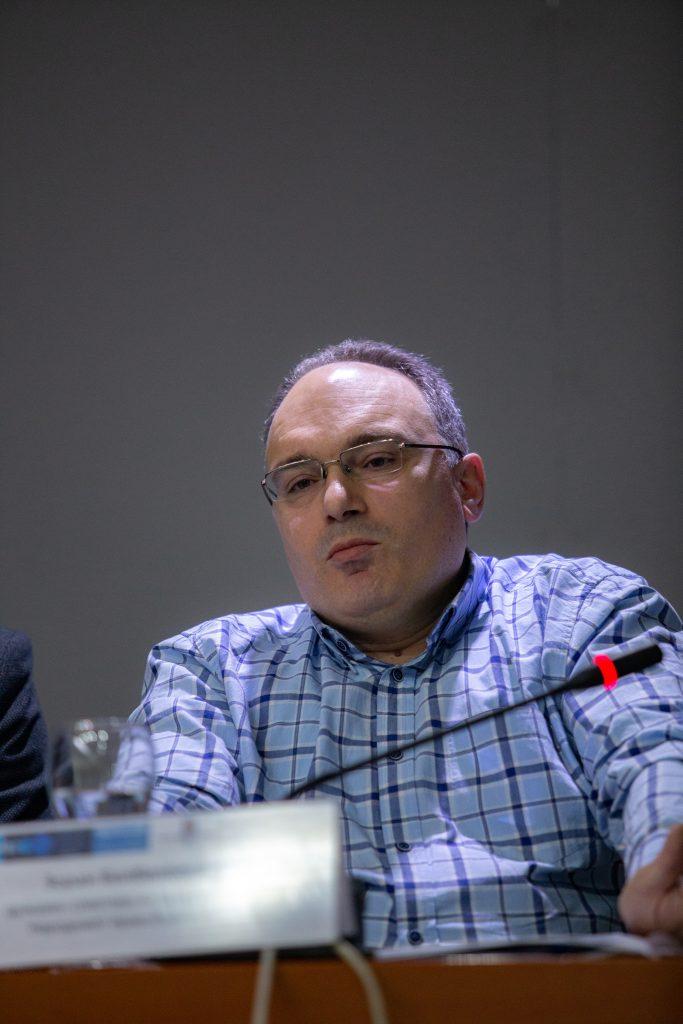 Зоран Билбилоски, државен советник во канцеларијата на Народниот Правобранител
