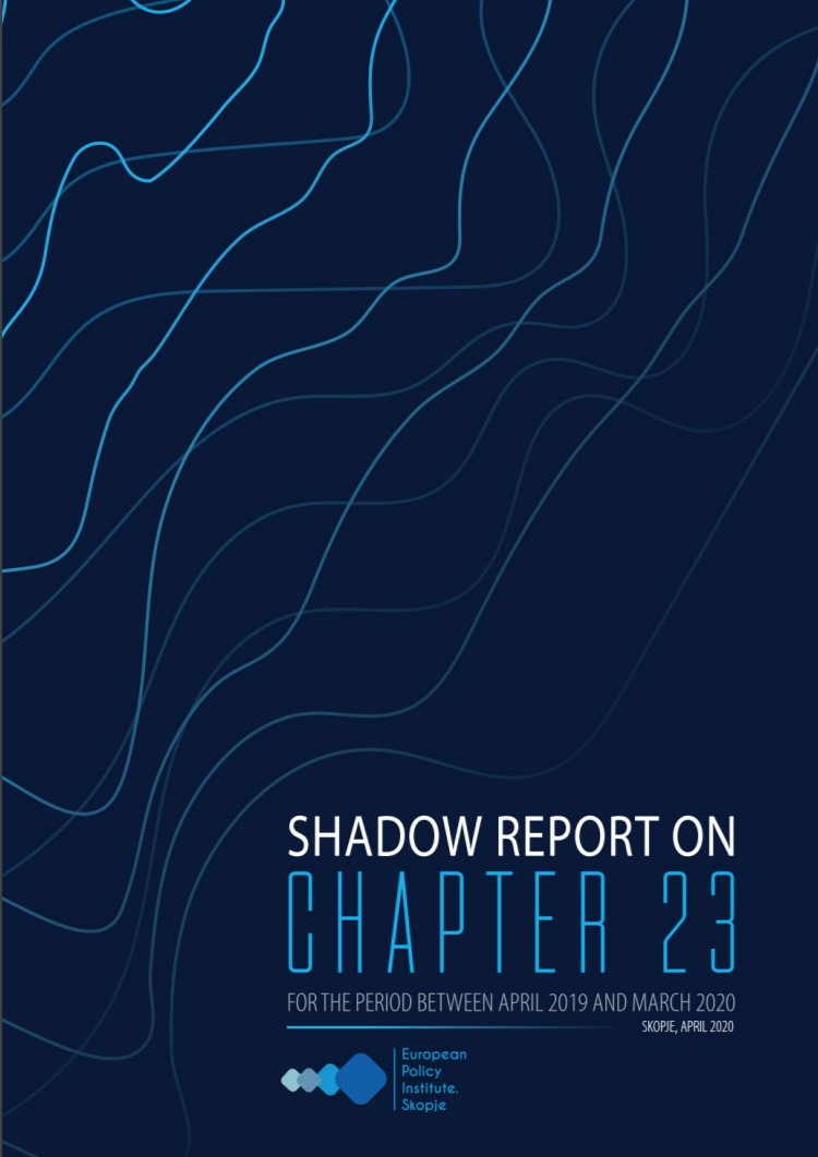 Shadow Report on Chapter 23 for the period between April 2019 and March 2020