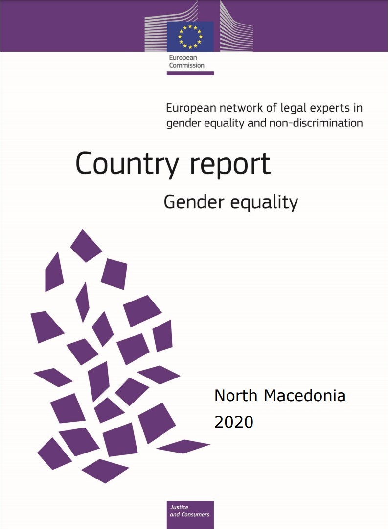 Country report Republic of North Macedonia: gender equality