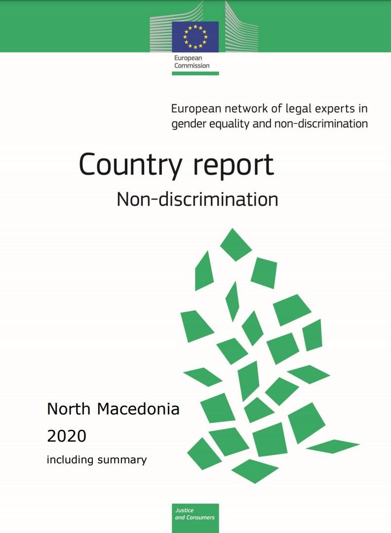 Country report Republic of North macedonia: Non-discrimination