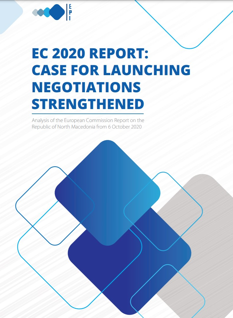 EC 2020 Report: Case for launching negotiations strengthened