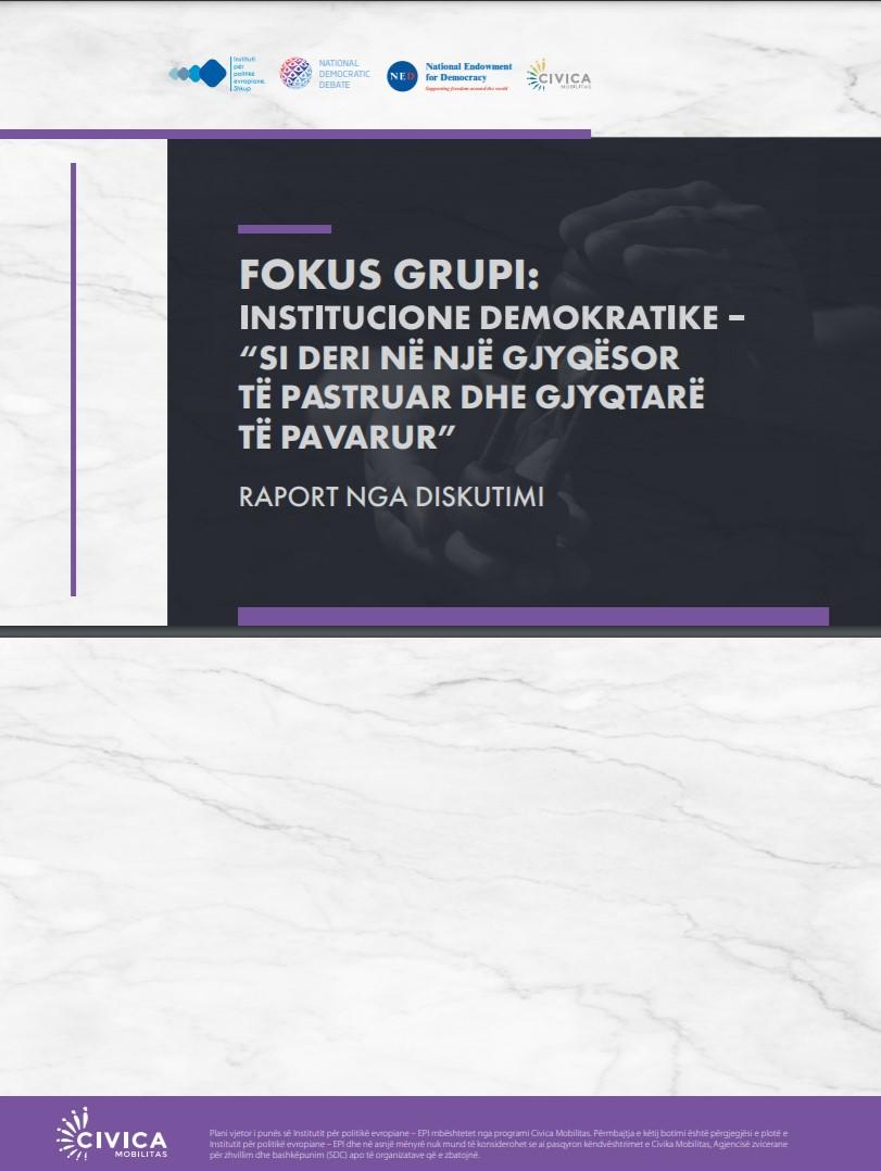 Raport nga diskutimi: Si deri në gjyqësor të pastruar dhe gjyqtarë të pavarur